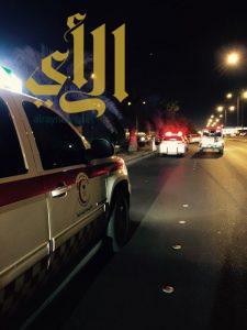 إصابة حرجة بحادث مروري على طريق الإمام عبدالله بالرياض