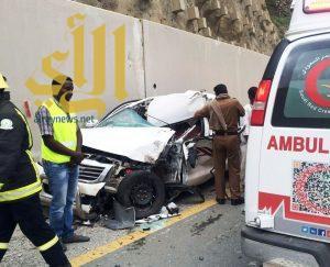 الباحة تشهد 20 بلاغاً لحوادث متنوعة خلال فترة هطول الأمطار