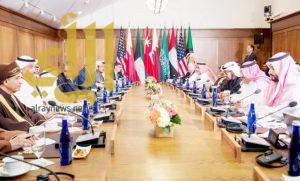 العلاقات الخليجية الأمريكية تسهم في تحقيق الأمن والاستقرار في المنطقة