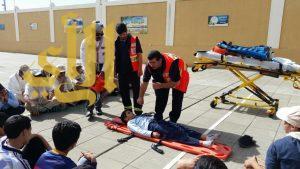 الهلال الأحمر بالباحة ينفذ دورات تدريبية للفرق الكشفية