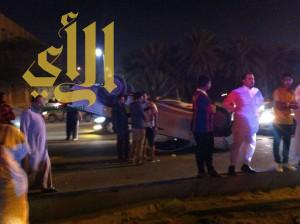 وفاة مواطن وإصابة آخر بحادث مروري على شارع الستين بالأحساء