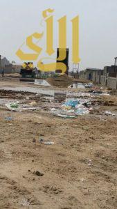 بلدية غرب الدمام تتابع اعمال الرقابة والنظافة بسوق المواشي