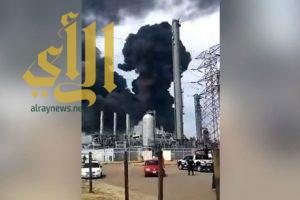 40 مصاباً في انفجار بمنشأة للبتروكيماويات في المكسيك