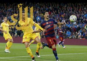 سواريز يقود برشلونة لسحق خيخون بسدادسية.. واستعادة الصدارة
