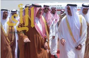 وزراء داخلية دول الخليج يصلون الرياض