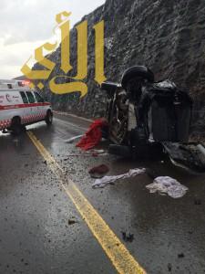 حالتين وفاة وإصابات متعددة في حوادث مرورية بالمدينة المنورة