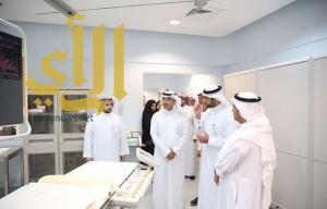 نائب وزير الصحة يفتتح أول مختبر يعمل بتقنية الروبورت في الشرق الأوسط