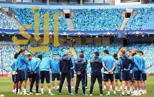 زيدان يضم جميع لاعبي ريال مدريد استعدادا لمانشستر سيتي