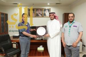 الكشافة العالمية تُشيد بدور معهد العلوم الإسلامية والعربية