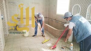 طلاب عسير يبادرون بنظافة وصيانة 25 مسجداً