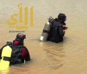 """مدني بيشة ينتشل جثتي شابين غرقا في """"غدير"""" بمركز صمخ"""