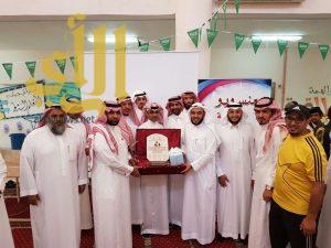 ثانوية الإمام محمد بن سعود تحتفل بتخريج الدفعة الثانية في أحد رفيدة