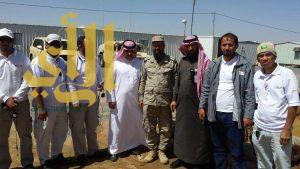 الإتصالات السعودية توثق البصمة لمرابطي الحد الجنوبي