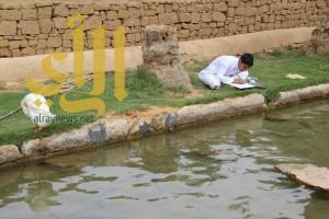 طلاب عنيزة يبدعون في رسم ريف المنطقة وتراثها