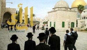 متطرفون يهود يقتحمون المسجد الأقصى
