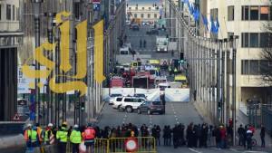 تعليق حركة النقل العام وسط بروكسل بسبب طرد مشبوه
