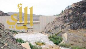 سيول اليمن تغمر وادي نجران .. والدفاع المدني يحذر بصافرات الإنذار