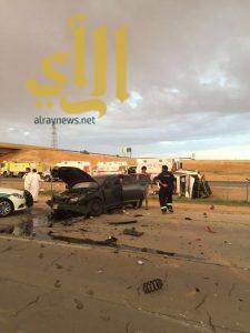 وفاة و15 إصابة بحادث مروري على طريق مكة