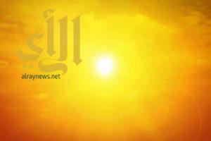 الأرصاد : ارتفاع درجات الحرارة هذا الاسبوع بالمملكة