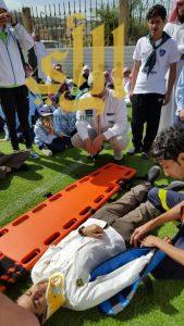 الهلال الأحمر بالباحة يقيم عدة دورات لـ 190 مستفيد خلال 6 أشهر
