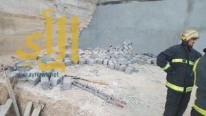 وفاة مقيم وإصابة 3 آخرين بعد إنهيار جدار تحت الإنشاء بمحافظة الأحساء