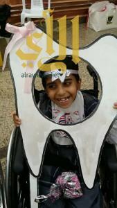 أطفال عسير المعوقين .. يحتفلون بيوم الصحة