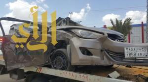 إصابات خطيرة لشاب عشريني بعد اصطدام مركبته بعمود إنارة بالباحة