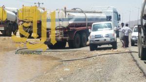 بلدية طريب توجه فرق الطوارئ لتصريف مياه الامطار وشفط التجمعات