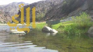 خرير الماء يُشنّف آذان عشّاق الطبيعة في الباحة