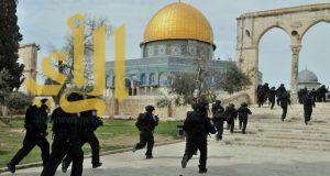 متطرفون يهود يقتحمون باحات المسجد الأقصى
