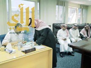 تطبيق نظام بصمة الإتصالات لموظفي فرع وزارة الشؤون الاسلامية بعسير