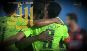 الأهلي يتجاوز الرائد ويتأهل لنصف نهائي كأس خادم الحرمين
