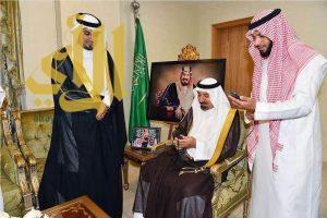 """أمير نجران يوثق بصمته بـ """"الاتصالات"""" ويؤكد: أمن الوطن فوق كل شيء"""