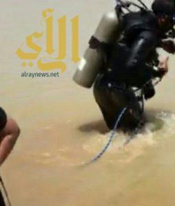 مدني أحد رفيدة ينتشل جثة طفل ١٣ عاماً من مستنقع مياه بوادي آل شواط
