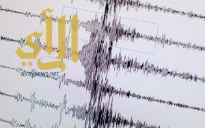 زلزال قوته 7 درجات يضرب جزيرة فانواتو بالمحيط الهادي