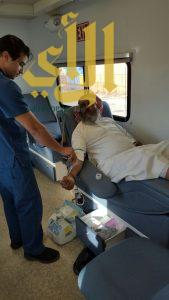 صحة عسير تشارك بحملة للتبرع بالدم لسبعة أيام