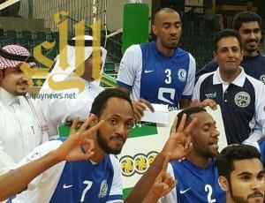 الهلال يواصل صدارته لممتاز الطائرة بالفوز على الاتحاد