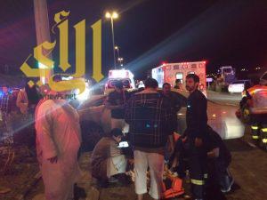 12 إصابة متوسطة وخطيرة بحوادث مرورية بالسراة وتهامة