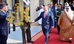 ملك الأردن يغادر الرياض