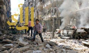 مقتل 30 مدنيا في قصف طيران الأسد على حلب