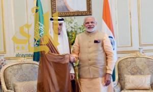 رئيس وزراء الهند يستقبل وزير الخارجية
