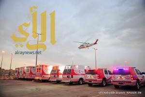 رفع مستوى الاستعداد بالهلال الأحمر بمنطقة الرياض لمواكبة التقلبات الجوية