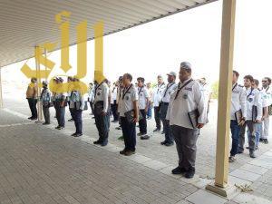 إنطلاق البرنامج الكشفي لتأهيل القادة الكشفيين والجوالة التطوعي بمكة