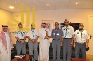 تعاون مشترك بين مركز الملك سلمان للإغاثة والاعمال الانسانية وجمعية الكشافة