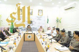 مدير شرطة منطقة الجوف يستقبل عدد من المسؤولين بمنطقة الجوف