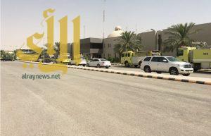 """""""مدني"""" الرياض يُسيطر على """"التماس كهربائي"""" بمستشفى النقاهه"""