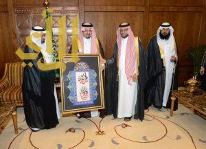 أمير عسير يستقبل مدير جامعة بيشة المكلف وأعضاء المجلس