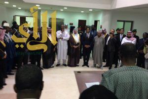 رئيس بوركينا فاسو يفتتح سفارة بلاده في الرياض