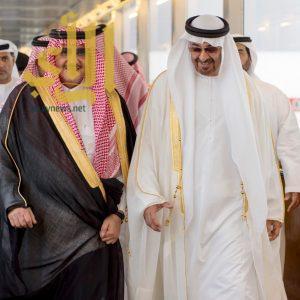 ولي عهد أبو ظبي يصل جدة