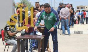 """""""الحملة السعودية"""" توزع 707 سلال غذائية على اللاجئين السوريين في الأردن"""